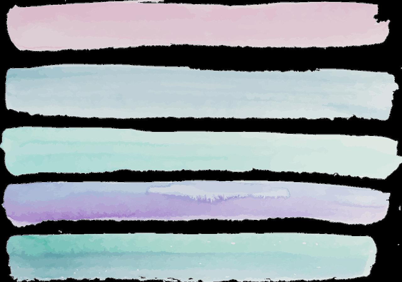 watercolour, pink, violet